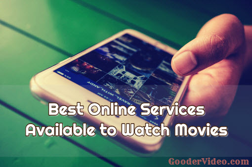 online services watch movies