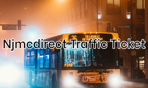 Njmcdirect Traffic Ticket